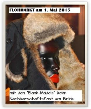 Bergedorf, Flohmarkt, Straßenfest Am Brink, Bank-Mädels, HeidivomLande, Blog