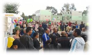 Bergedorf, Flüchtlinge, Containerdorf, Syrien, Willkommensfest, HeidivomLande, Blog, Brookkehre