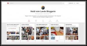 Pinterest, Blog, Bergedorf, Social Media, HeidivomLande, Blog, Facebook, E-Mail