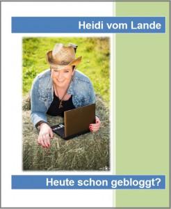 HeidivomLande, Bergedorf, Heidi vom Lande, Bloggerin, Serie, heute schon gebloggt?, Manuskript, Buch, Online-Buch, Landleben