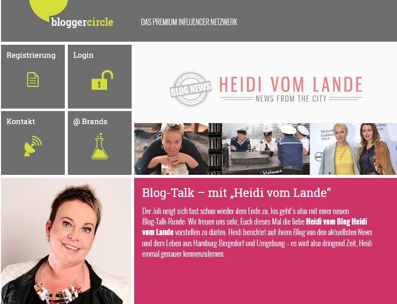 HeidivomLande, Bergedorf, der Bergedorfer Blog, Blogger, regionale Tipps, Veranstaltungen, Kultur, Musik, Events, Interviews, Krimi, Thriller, Touristeninformation, Sehenswürdigkeiten, Blogger Circle, Blogger Netzwerk, Influencer, Blog-Talk