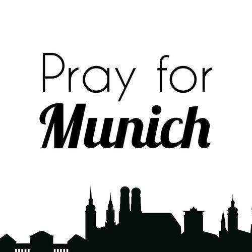 Pray for Munich, Amoklauf, München, 22.07.2016, Attentat