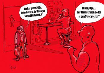 Wir hier im Norden, Cartoon, Kultautoren, Arne Tiedemann, Piet Hamann, das wahre Hambuch, Gewinnspiel, HEIDI VOM LANDE, Der Blog aus und für Bergedorf, Hamburg, Bergedorf Blog