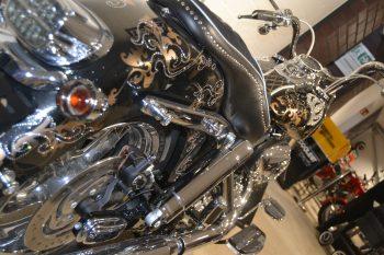 Harley Davidson, Megastore, Eröffnung, Horst Lichter, Bares für Rares, HEIDI VOM LANDE, Bloggerin, Harley, Probesitzen, Heinz Hoenig, Kalle Haverland, Der Kiezpirat