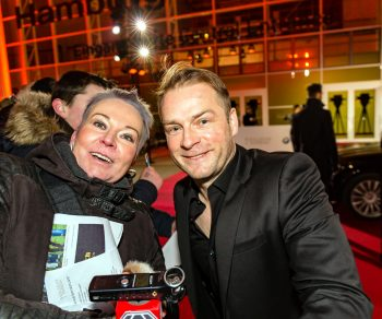 Hinnerk Schönermann, Goldene Kamera, 2018, Funke Mediengruppe, Gala, Musik, Schauspieler, TV, Serie, Verleihung, Preisträger, Fernsehfilm, Trophäe, gold, Hamburg