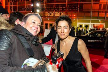 Dunja Hayali, Goldene Kamera, 2018, Funke Mediengruppe, Gala, Musik, Schauspieler, TV, Serie, Verleihung, Preisträger, Fernsehfilm, Trophäe, gold, Hamburg