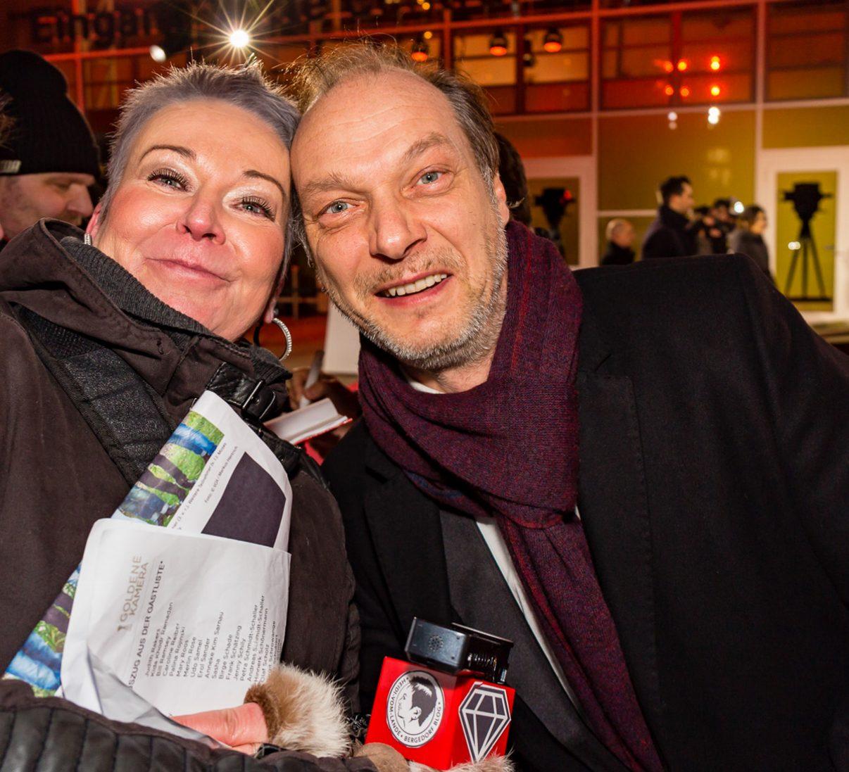 Goldene Kamera, 2018, Funke Mediengruppe, Gala, Musik, Schauspieler, TV, Serie, Verleihung, Preisträger, Fernsehfilm, Trophäe, gold, Hamburg, Martin Brambach