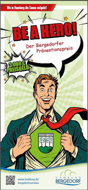 Präventionspreis, 3000 Euro, Superhero, Projekt, Preisverleihung, Bergedorf, Inklusion, Verantwortung, Kinder, Jugendliche, Gewinn, Be a hero, Bergedorf Blog