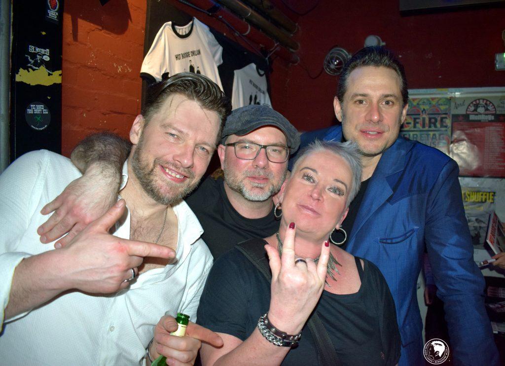 Hoss Power, The BossHoss, Hot Boogie Chillun, Konzert, Release, CD, New Album, 18 Reasons to R'n'R, Micha Frick, Sascha Vollmer, Roberto Bangrazi, Monkeys Musicclub, HEIDI VOM LANDE, Hamburg, Musiker, Band, Live, Live-Konzert, 2018, Tour, Altona