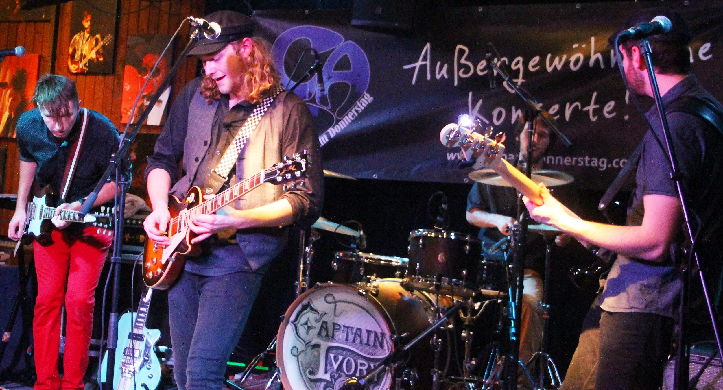 captain ivory, Rock'n'Roll, Musik, Band, Konzert, Auftritt, Veranstaltung, Club am Donnerstag, Bergedorf, Bergedorf Blog, HEIDI VOM LANDE, USA,
