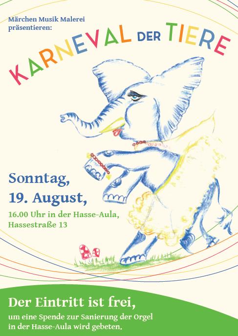Karneval der Tiere, Bergedorf-Süd, Rudolf-Steiner-Schule, Hasse-Aula, Veranstaltung, Tipp, Regional, Bergedorf Blog, Aufführung, Kinder