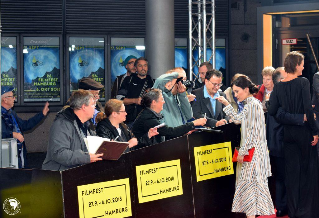 Filmfest Hamburg, Stars auf dem roten Teppich, Kino, Filme, 2018, Regisseure, Schauspieler, Presserummel, Kinofilm, Weltfilm, Eröffnung, Fotos, Sibel Kekilli