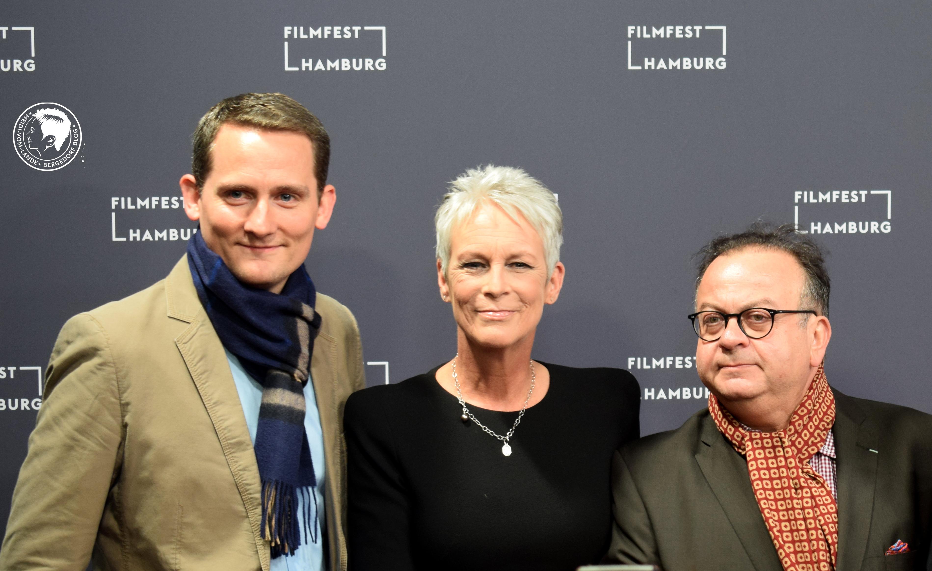 Filmfest Hamburg, Stars auf dem roten Teppich, Kino, Filme, 2018, Regisseure, Schauspieler, Presserummel, Kinofilm, Weltfilm, Eröffnung, Fotos, Jamie Lee Curtis