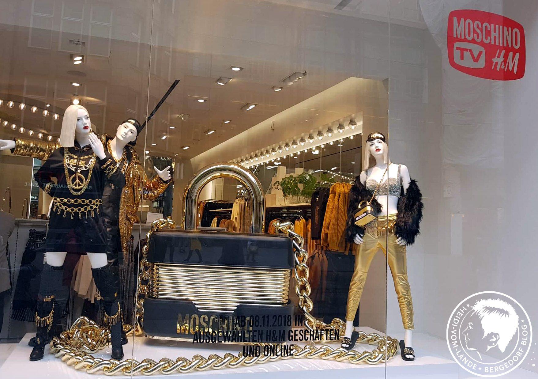 Love Moschino, H&M, Designerkollektion, Haute-Couture-Kollaboration, Jeremy Scott, Moschino, Fashionrebell, Hamburg, Spitaler Straße, Avangardistisch, Fashion, Mode, Insider, Heidi vom Lande