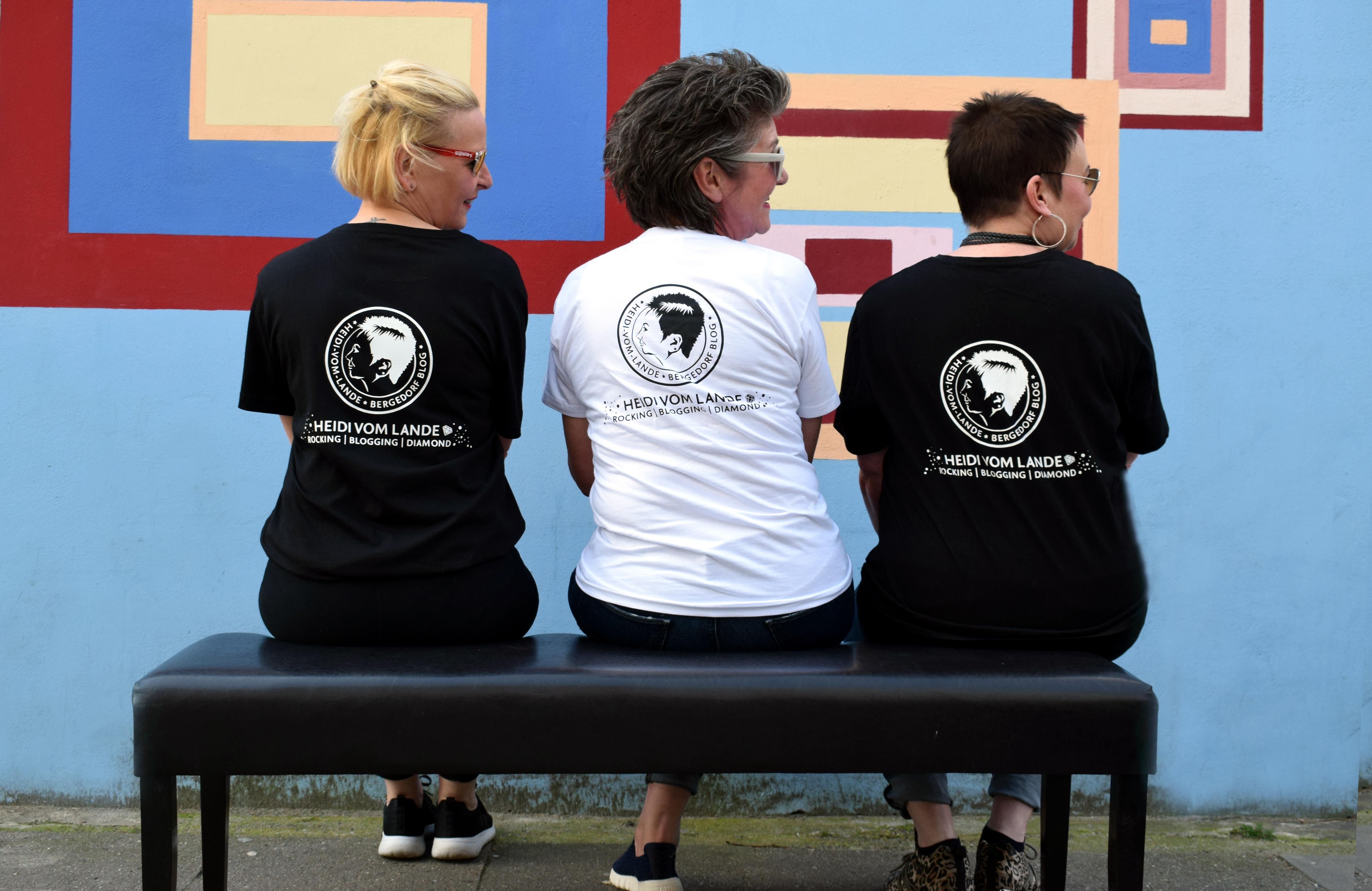 Heidi vom Lande, Merchandising, T-Shirt, Hoodie, Sweatshirt, Turnbeutel, Logo, Blog, Bloggerin, Werbemittel, Blog, Der Blog aus Hamburg, Bergedorf, Marke