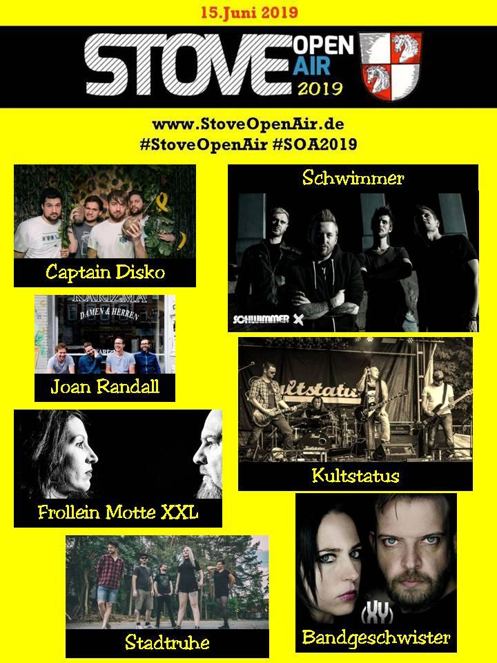 Stove open air, Stove, Landkreis Harburg Kultursommer 2019, Hamburg, Konzert, Bands, Musiker, Nachrichten, Bergedorf, Deutsch FM