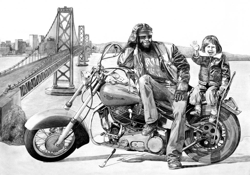 Ole Ohlendorff, Künstler, Maler, Rock-Legenden, Easy Rider, Dead Rock Heads, Ausstellung, Hamburg, Harley Days, 2019, News, Nachrichten