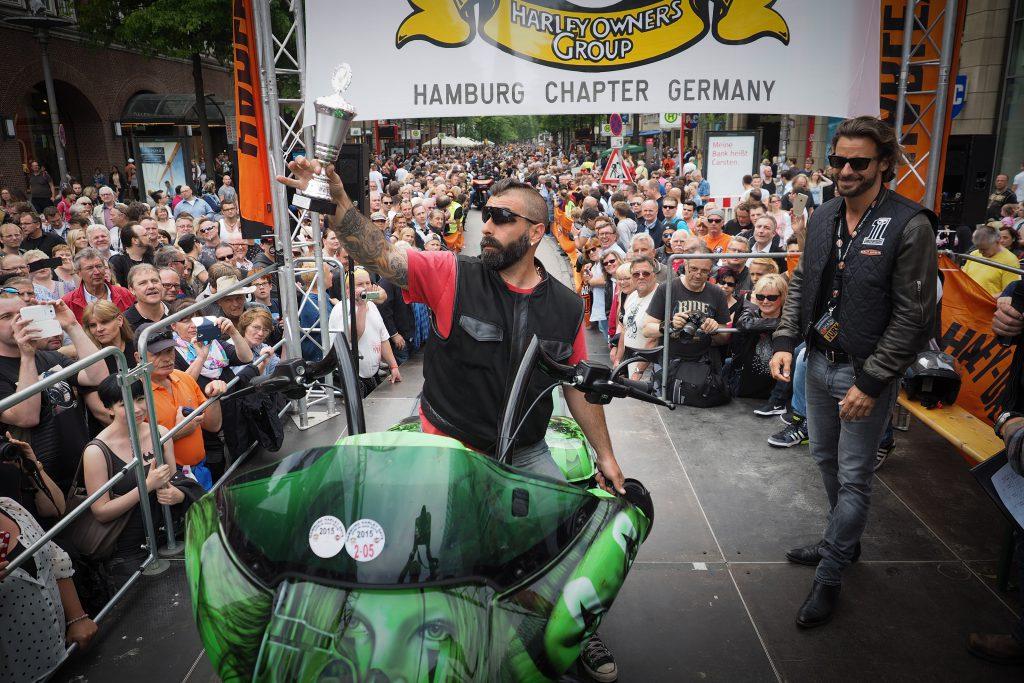 Harley Davidson Hamburg 2019, Grossmarkt, Motorrad, Motorräder, Parade, Tour, Programm, Bands, Veranstaltung