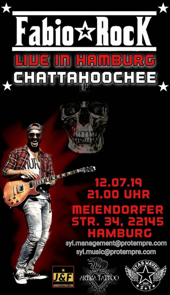 Fabio Ebasta, Gitarrist, Turi, Las Palmas, Bonesetter, Fabio Rock, Berlin, Konzert Hamburg, Chattahoochee, Veranstaltung