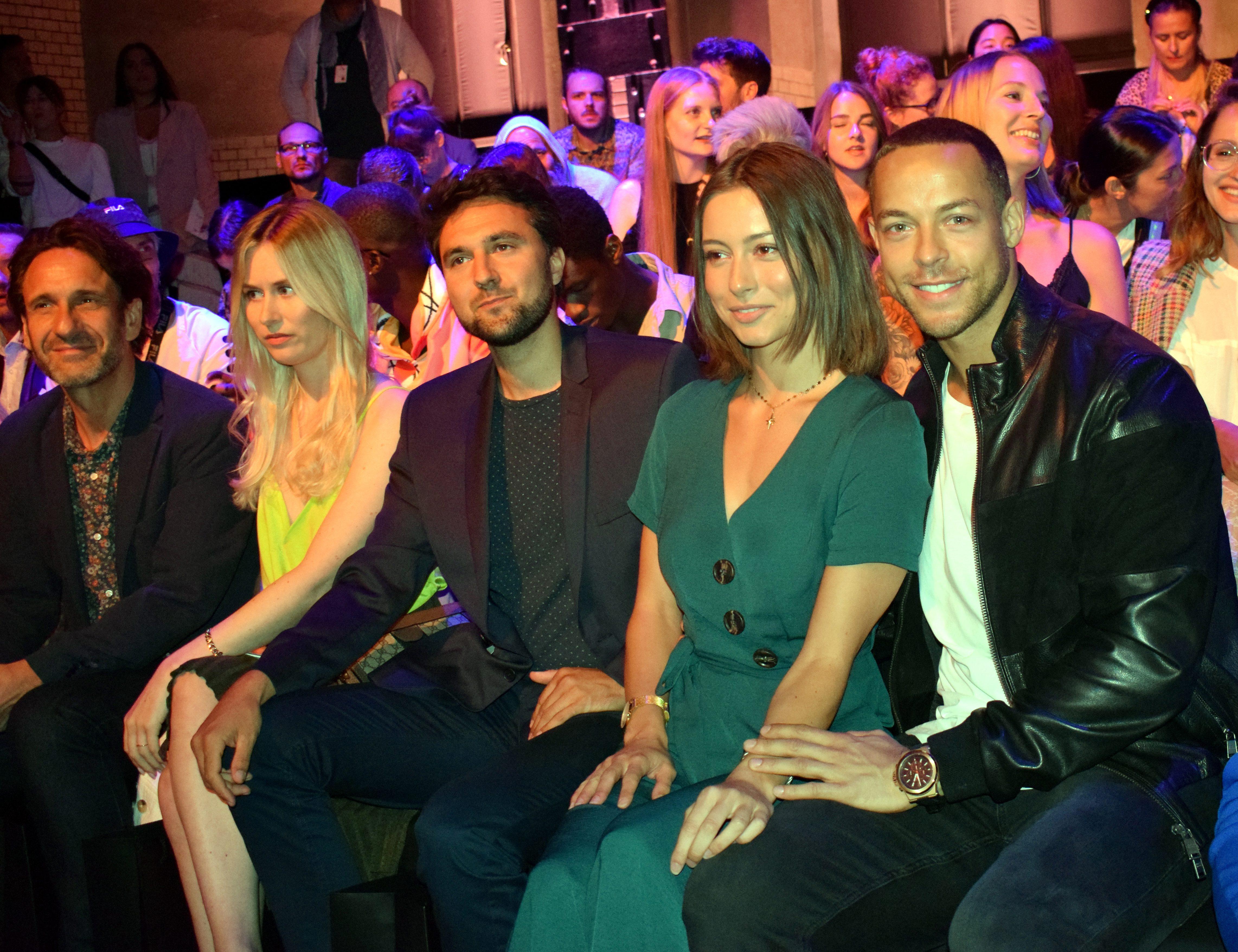 Berlin Fashion Week 2019, Catwalk, Mode, Bachelor Andrej Mangold, Jennifer Lange, Show Irene Luft, Promi