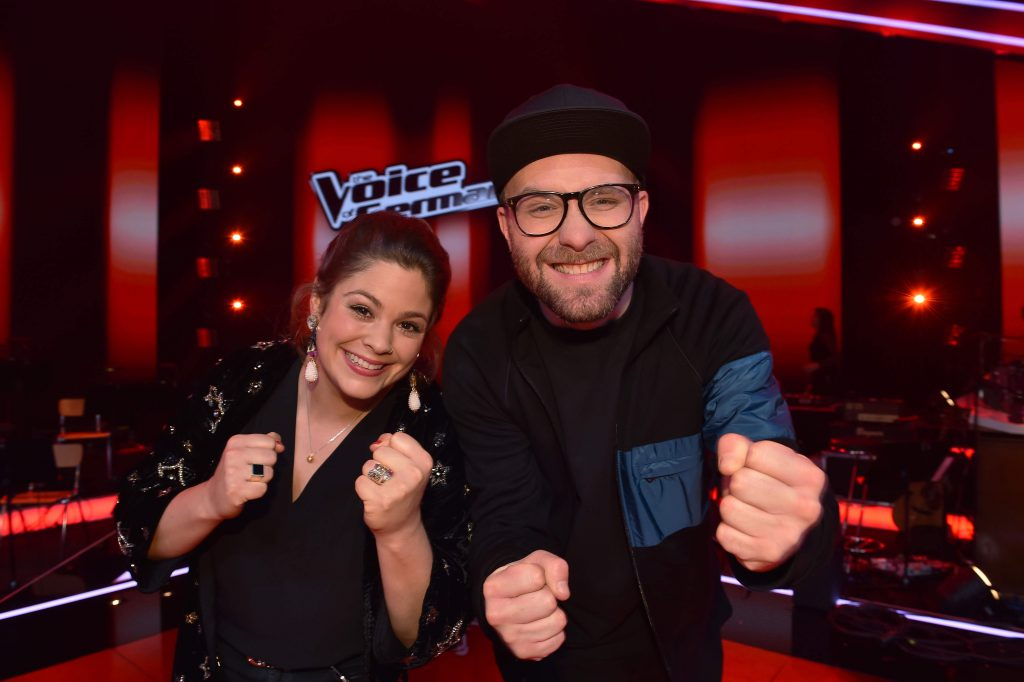 The Voice of Germany, Fidi Steinbeck, Team Mark, Mark Forster, Staffel 9, The Voice of Germany-Coaches, Pro 7, TV, Fernsehen, Cello, Hamburg, Bergedorf, Coaches, The Voice 2019, Musikfans, Musik, Musikerin, Finale