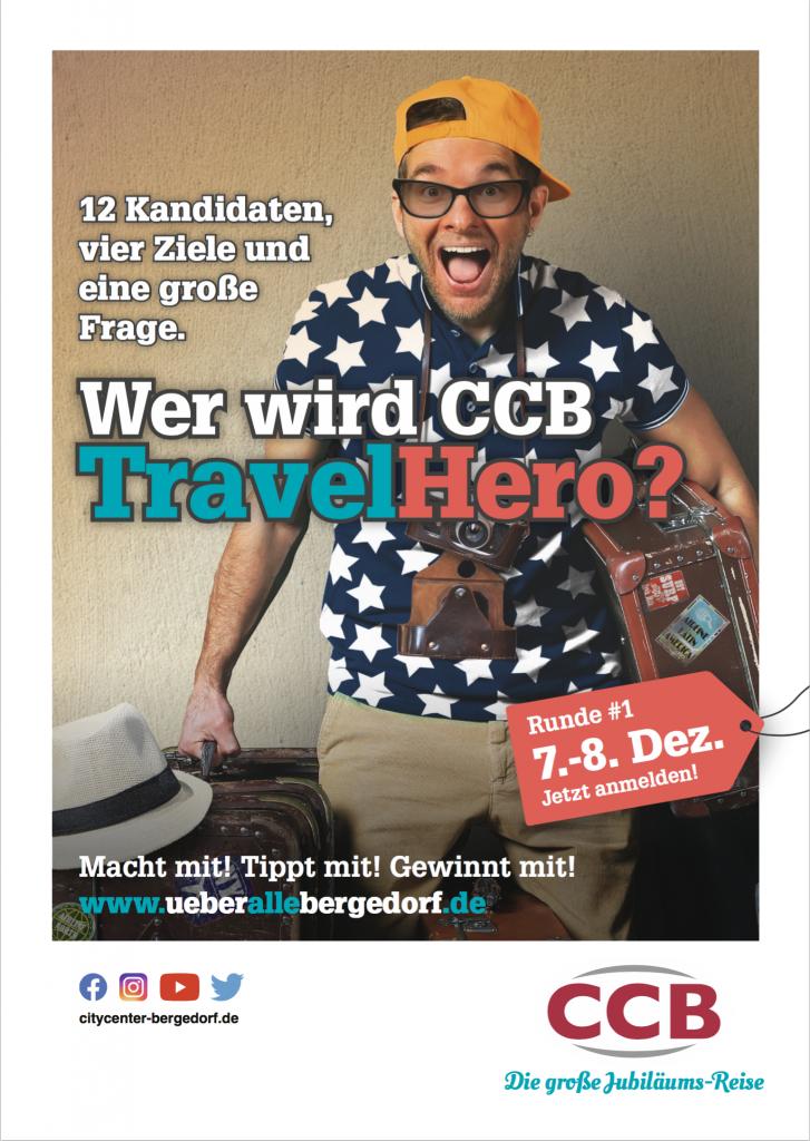 TravelHero, Jubiläums-Reise, City Center Bergedorf, CCB, Center-Reisen, Travel Fans, Gewinne, Gewinnspiel, Bergedorf, Hamburg, Facebook, Instagram, Bergedorf Blog, News, Nachrichten
