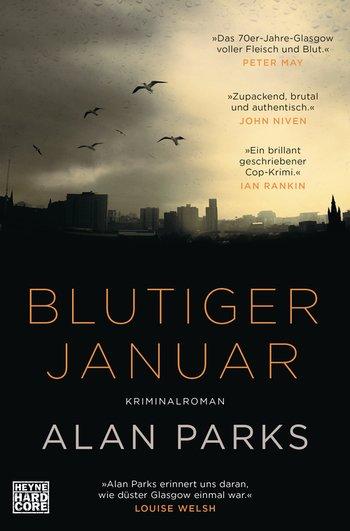 Buch, Gewinnspiel, HEIDI VOM LANDE, Bloggerportal, Blutiger Januar, Alan Parks