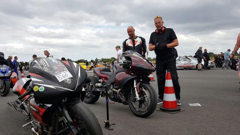 Team Thors Nordic Thunder, Tim Krüger, Jade-Race, Dragracing-Rennserie, Dragrace, Buell, Motorrad, nitrolympix, Fahrer, Motorsport-Event, Leck, Sylt