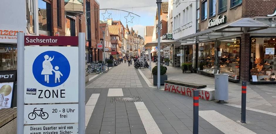 Bergedorf, Hamburg, Sachsentor, Einkaufszentrum, verkaufsoffener Sonntag, Corona-Pandemie, Lockdown light, Shopping, News, Nachrichten
